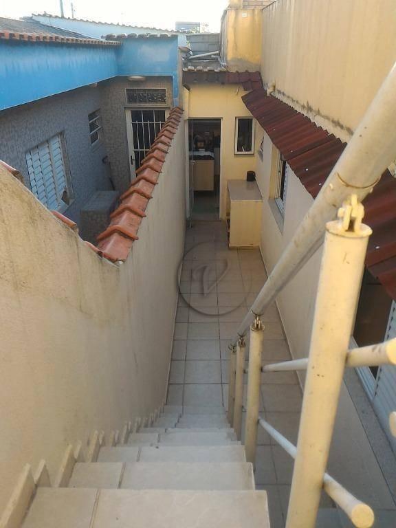 sobrado com 3 dormitórios à venda, 180 m² por r$ 595.000 - mauá - são caetano do sul/sp - so0679