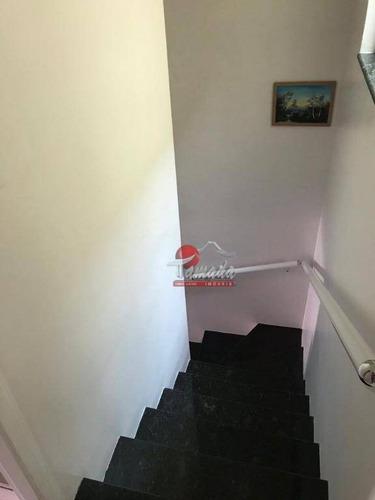 sobrado com 3 dormitórios à venda, 182 m² por r$ 540.000,00 - vila constança - são paulo/sp - so2826