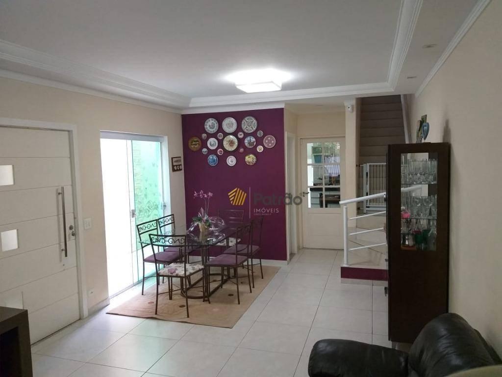 sobrado com 3 dormitórios à venda, 188 m² por r$ 740.000,00 - nova petrópolis - são bernardo do campo/sp - so0828