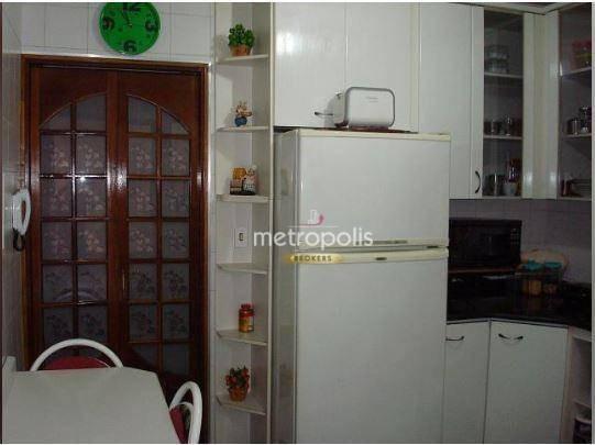 sobrado com 3 dormitórios à venda, 189 m² por r$ 690.000,00 - mauá - são caetano do sul/sp - so0751