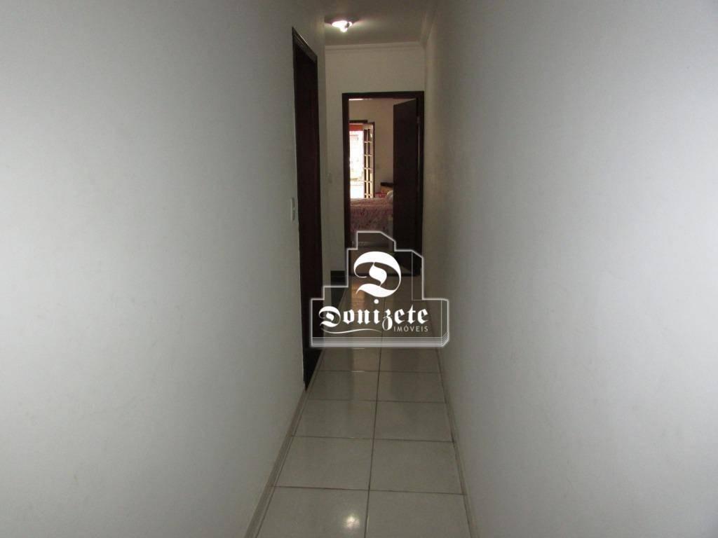 sobrado com 3 dormitórios à venda, 190 m² por r$ 510.000,00 - jardim las vegas - santo andré/sp - so1412