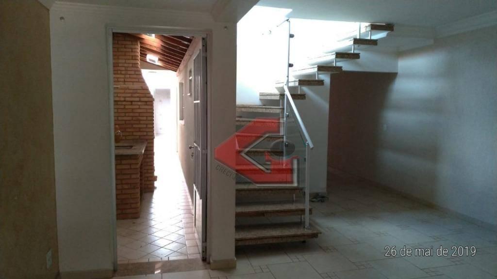 sobrado com 3 dormitórios à venda, 193 m² por r$ 600.000,00 - assunção - são bernardo do campo/sp - so0982
