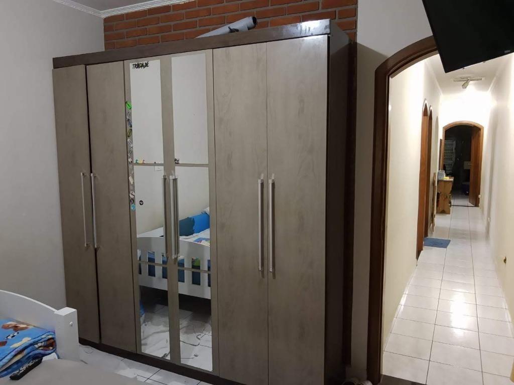 sobrado com 3 dormitórios à venda, 199 m² - paulicéia - são bernardo do campo/sp - so19016