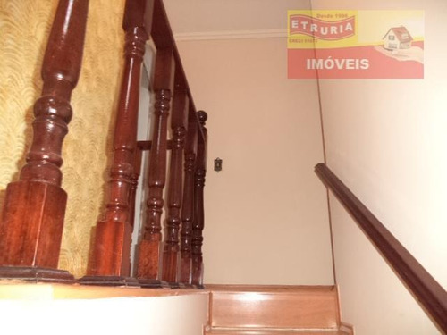 sobrado com 3 dormitórios à venda, 200 m² por r$ 420.000,00 - jardim vera cruz(zona leste) - são paulo/sp - so0069