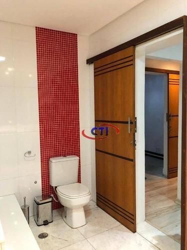 sobrado com 3 dormitórios à venda, 200 m² - rudge ramos - são bernardo do campo/sp - so0517