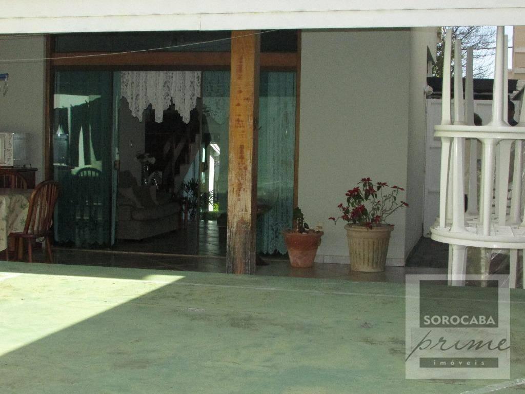 sobrado com 3 dormitórios à venda, 202 m² por r$ 1.110.000,00 - condomínio granja olga ii - sorocaba/sp - so0047
