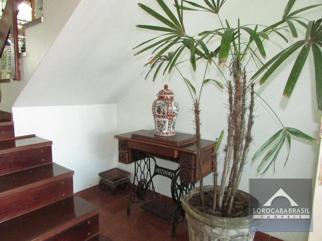 sobrado com 3 dormitórios à venda, 202 m² por r$ 1.110.000,00 - condomínio granja olga ii - sorocaba/sp - so0080