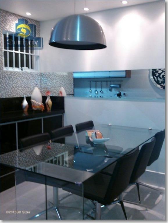 sobrado com 3 dormitórios à venda, 206 m² por r$ 764.000,00 - santa maria - santo andré/sp - so0776