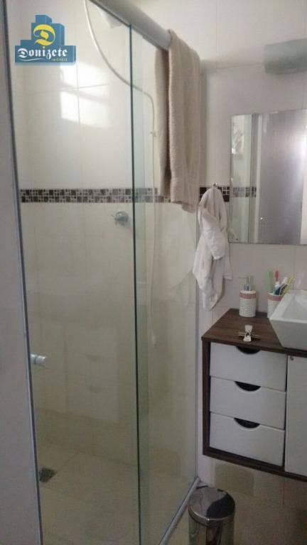sobrado com 3 dormitórios à venda, 210 m² por r$ 640.000,00 - rudge ramos - são bernardo do campo/sp - so1584