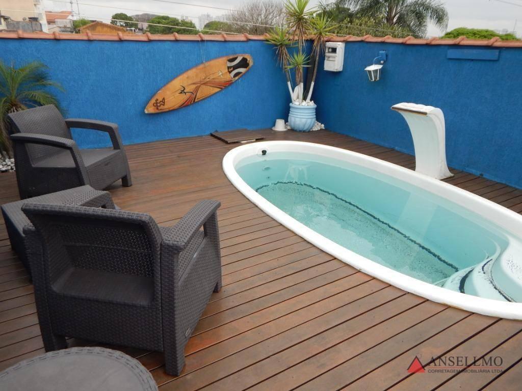 sobrado com 3 dormitórios à venda, 210 m² por r$ 800.000 - parque dos pássaros - são bernardo do campo/sp - so0789