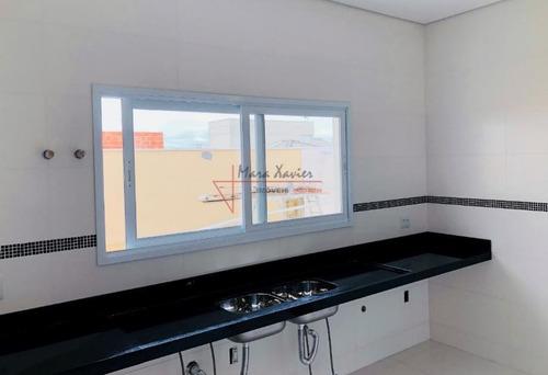sobrado com 3 dormitórios à venda, 220 m² por r$ 950.000 - condomínio villagio di napolii - valinhos/sp - so0437