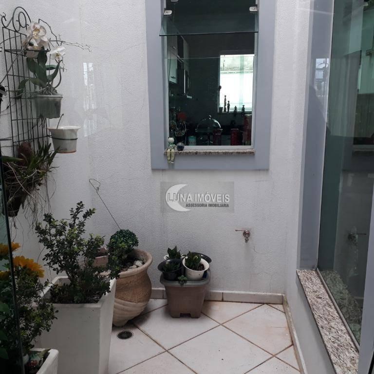 sobrado com 3 dormitórios à venda, 223 m² por r$ 950.000,00 - jardim hollywood - são bernardo do campo/sp - so0614