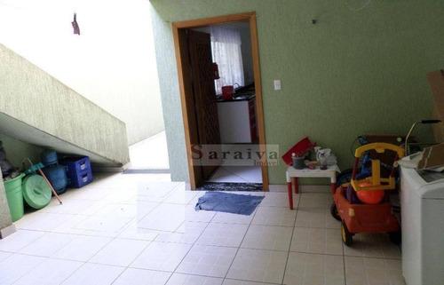 sobrado com 3 dormitórios à venda, 224 m² por r$ 660.000 - paulicéia - são bernardo do campo/sp - so0351
