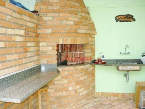 sobrado com 3 dormitórios à venda, 228 m² por r$ 900.000 - vila caminho do mar - são bernardo do campo/sp - so1094