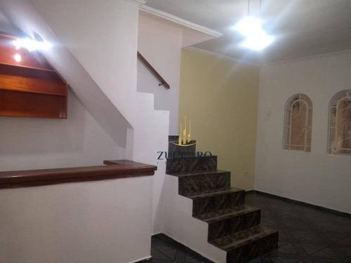 sobrado com 3 dormitórios à venda, 236 m² por r$ 460.000 - jardim bela vista - guarulhos/sp - so4247