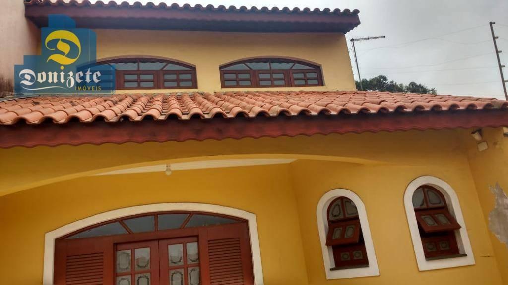 sobrado com 3 dormitórios à venda, 238 m² por r$ 520.000,10 - jardim milena - santo andré/sp - so2059