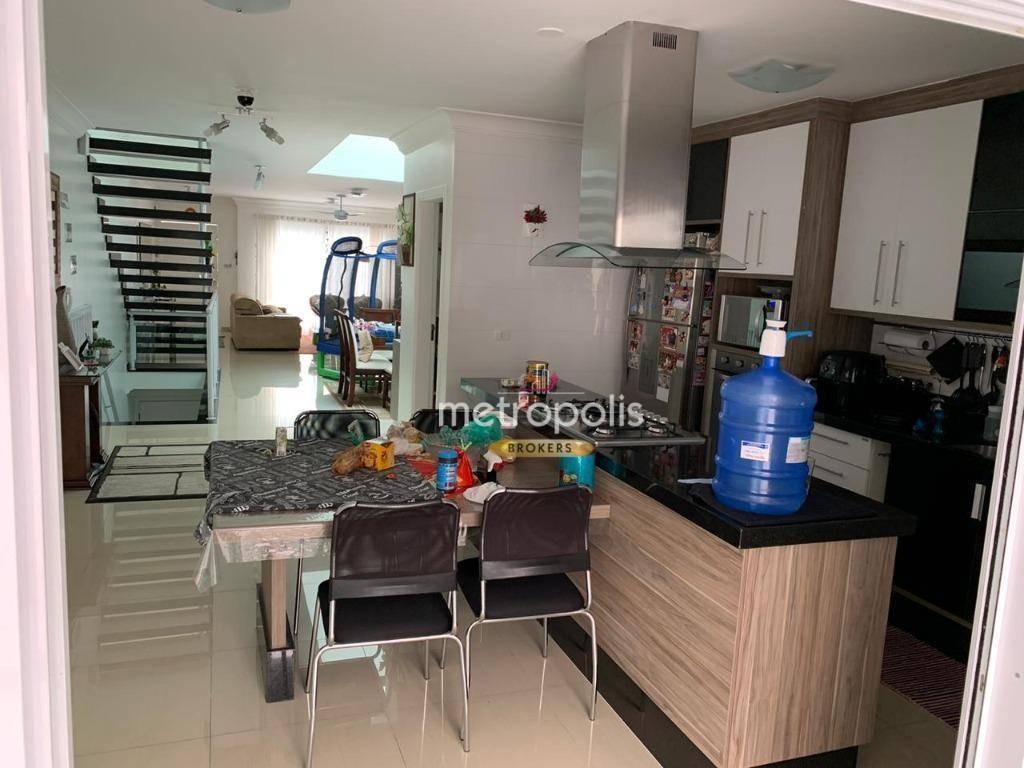 sobrado com 3 dormitórios à venda, 240 m² por r$ 1.370.000 - santa maria - são caetano do sul/sp - so0748