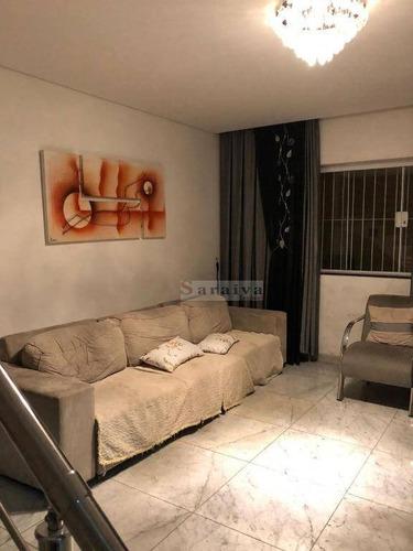 sobrado com 3 dormitórios à venda, 250 m² por r$ 1.280.000 - vila afonsina - são bernardo do campo/sp - so0350