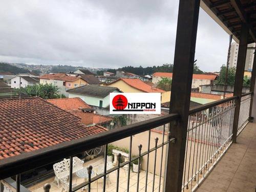 sobrado com 3 dormitórios à venda, 250 m² por r$ 530.000 - portão - arujá/sp - so0270