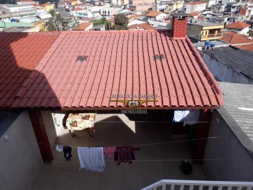 sobrado com 3 dormitórios à venda, 250 m² por r$ 900.000,00 - vila maria - são paulo/sp - so1296