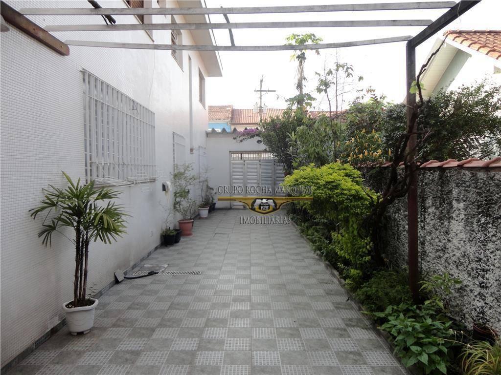 sobrado com 3 dormitórios à venda, 255 m² por r$ 1.620.000,00 - belém - são paulo/sp - so0088