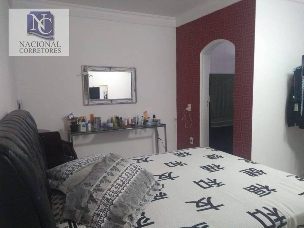 sobrado com 3 dormitórios à venda, 257 m² por r$ 555.000,00 - parque das nações - santo andré/sp - so3233