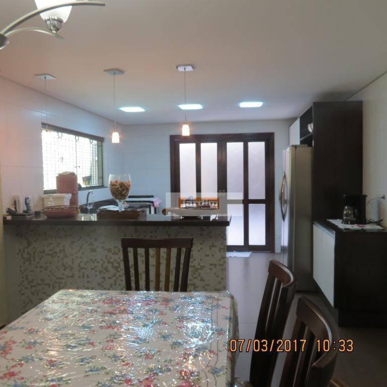 sobrado com 3 dormitórios à venda, 267 m² por r$ 1.000.000 - parque são diogo - são bernardo do campo/sp - so2467