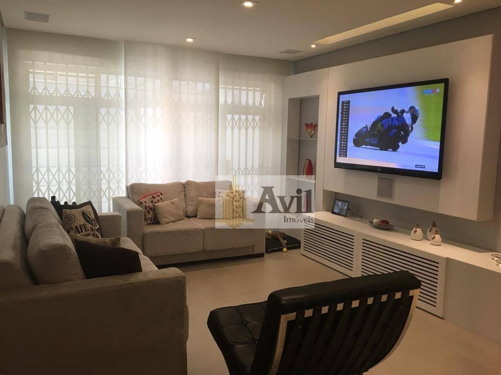 sobrado com 3 dormitórios à venda, 270 m² por r$ 1.600.000 - vila gomes cardim - são paulo/sp - so0497