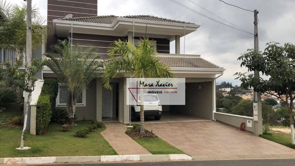 sobrado com 3 dormitórios à venda, 272 m² por r$ 1.250.000,00 - condomínio bosque dos cambarás - valinhos/sp - so0474