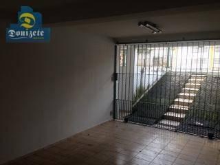 sobrado com 3 dormitórios à venda, 278 m² por r$ 650.000,01 - vila floresta - santo andré/sp - so1850