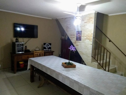 sobrado com 3 dormitórios à venda, 294 m² por r$ 930.000 - vila santa clara - são paulo/sp - so1632