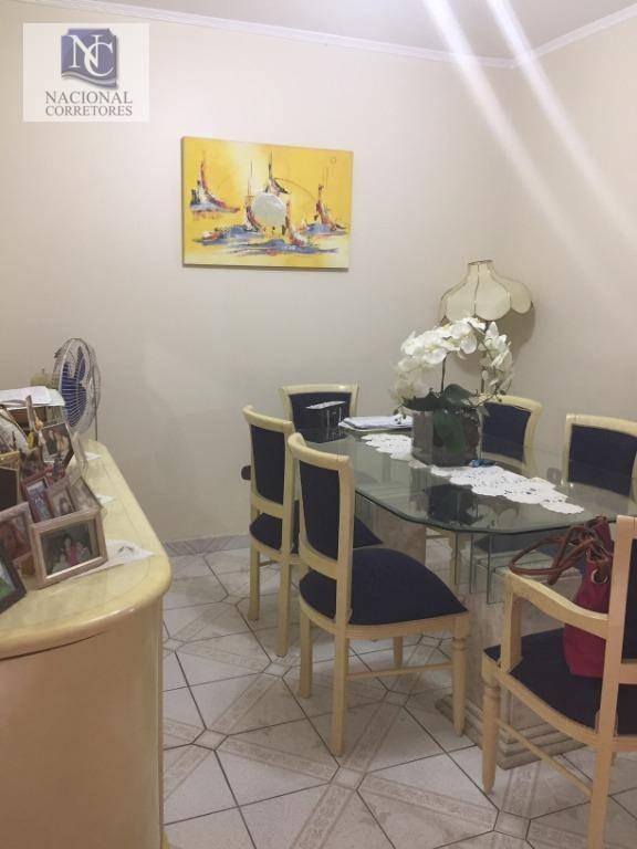 sobrado com 3 dormitórios à venda, 300 m² por r$ 850.000 - vila curuçá - santo andré/sp - so3345
