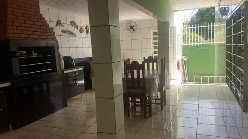 sobrado com 3 dormitórios à venda, 312 m² por r$ 650.000 - dom aquino - cuiabá/mt - so0172