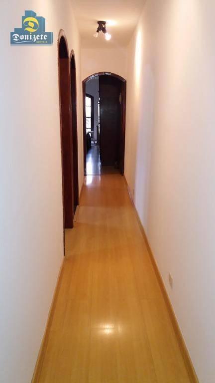 sobrado com 3 dormitórios à venda, 315 m² por r$ 649.900,01 - jardim milena - santo andré/sp - so2115