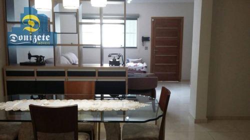 sobrado com 3 dormitórios à venda, 340 m² por r$ 849.000,00 - vila baeta neves - são bernardo do campo/sp - so1715