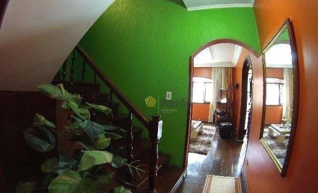 sobrado com 3 dormitórios à venda, 375 m² por r$ 900.000,00 - parque dos pássaros - são bernardo do campo/sp - so0813