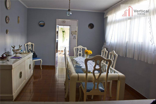 sobrado com 3 dormitórios à venda, 440 m² por r$ 2.000.000 - jardim anália franco - são paulo/sp - so0618