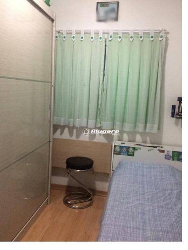 sobrado com 3 dormitórios à venda, 77 m² por r$ 440.000 - vila rio de janeiro - guarulhos/sp - so0568