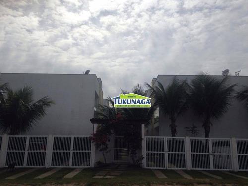 sobrado com 3 dormitórios à venda, 90 m² por r$ 400.000 - jardim são lourenço - bertioga/sp - so0181