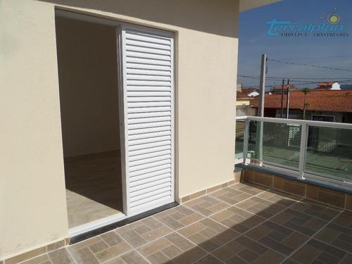 sobrado com 3 dormitórios à venda, 94 m² por r$ 289.000 - parque d'aville residencial - peruíbe/sp - so0054