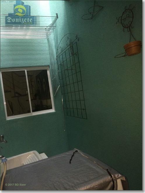 sobrado com 3 dormitórios à venda, cond fechado - r$ 560.000,00 - vila floresta - santo andré/sp - so0083