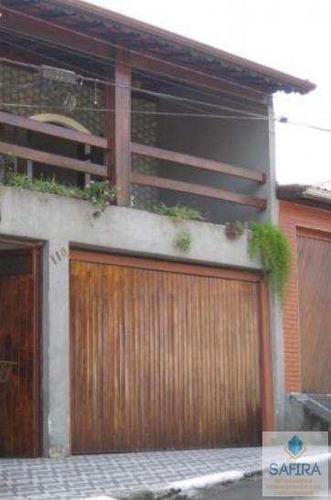 sobrado com 3 dorms, jardim estela, poá - r$ 420.000,00, 0m² - codigo: 375 - v375