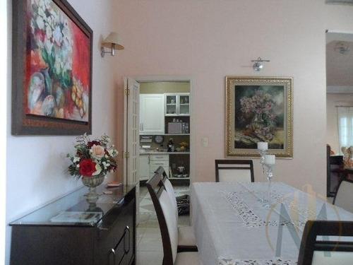 sobrado com 4 dormitórios, 294 m² - vista verde  - ca0691