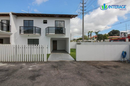 sobrado com 4 dormitórios para alugar, 140 m² por r$ 1.800/mês - santa felicidade - curitiba/pr - so0154