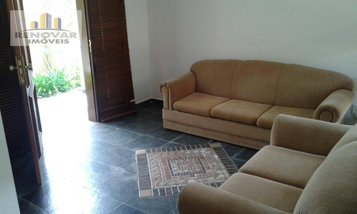 sobrado com 4 dormitórios para alugar, 164 m² por r$ 3.300/mês - vila oliveira - mogi das cruzes/sp - so0357