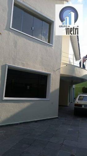 sobrado com 4 dormitórios para alugar, 400 m² por r$ 4.500,00/mês - city américa - são paulo/sp - so0627