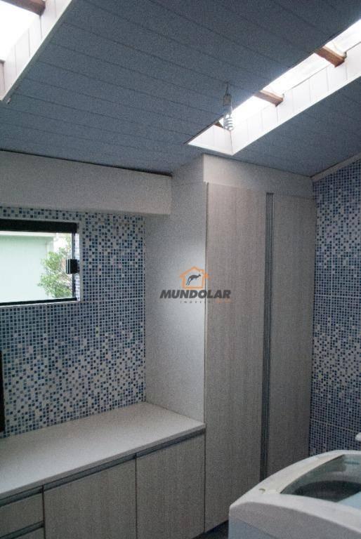 sobrado com 4 dormitórios à venda, 122 m² por r$ 490.000,00 - fazenda velha - araucária/pr - so0162