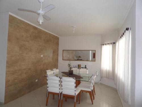 sobrado com 4 dormitórios à venda, 145 m² por r$ 430.000 - parque balneário oásis - peruíbe/sp - so0270
