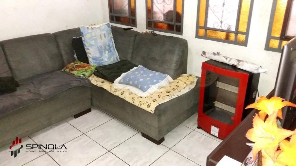 sobrado com 4 dormitórios à venda, 145 m² por r$ 550.000 - boqueirão - praia grande/sp - so0036