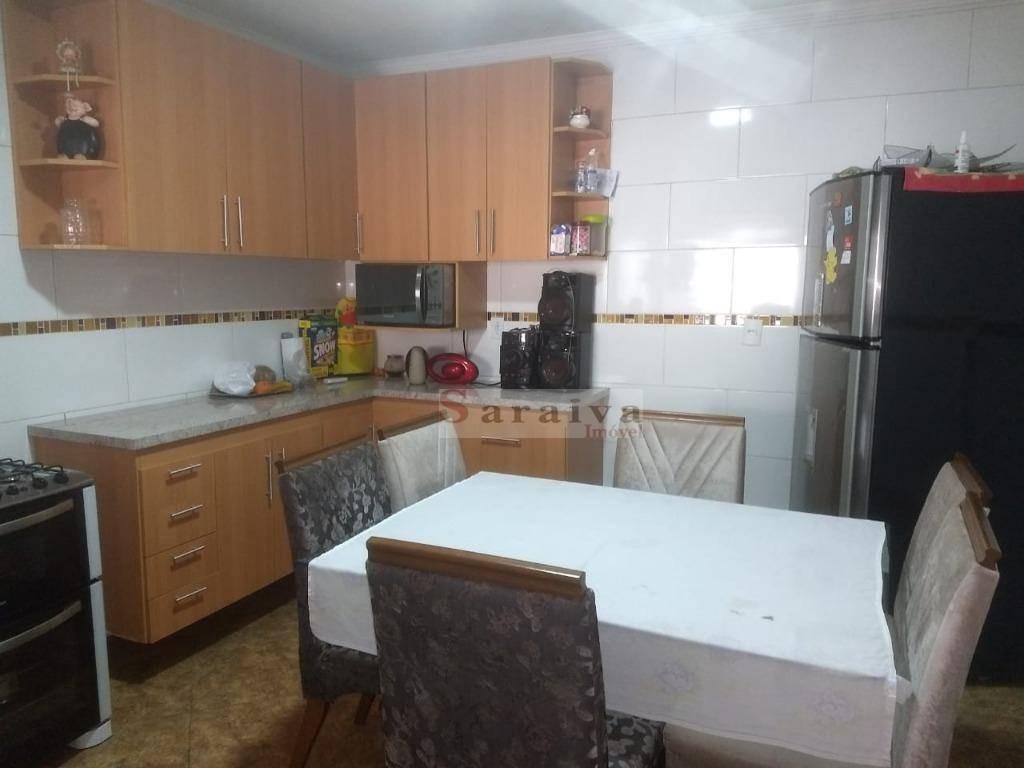 sobrado com 4 dormitórios à venda, 170 m² por r$ 895.000,00 - rudge ramos - são bernardo do campo/sp - so0368